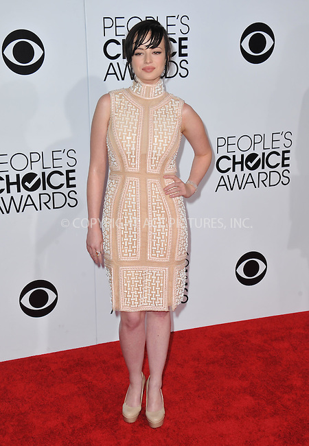 WWW.ACEPIXS.COM<br /> <br /> <br /> January 8, 2014, Los Angeles, CA.<br /> <br /> Ashley Rickards arriving atThe 40th Annual People's Choice Awards held at Nokia Theatre L.A. Live on January 8, 2014 in Los Angeles, California. <br /> <br /> <br /> <br /> <br /> <br /> <br /> By Line: Peter West/ACE Pictures<br /> <br /> ACE Pictures, Inc<br /> Tel: 646 769 0430<br /> Email: info@acepixs.com
