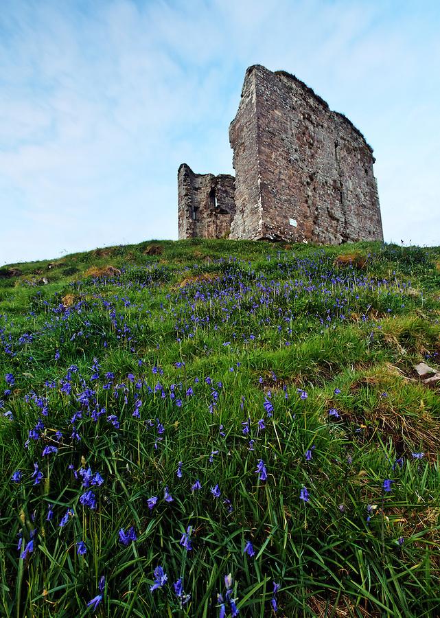 Minard Castle, Dingle Peninsula, County Kerry, Republic of Ireland