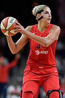 Washington, DC - August 25, 2019: Washington Mystics forward Elena Delle Donne (11) during second half action of game between the New York Liberty and the Washington Mystics at the Entertainment and Sports Arena in Washington, DC. The Mystics defeated New York 101-72. (Photo by Phil Peters/Media Images International)