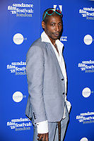 Johann Mayers at the &quot;Yardie&quot; premiere as part of the Sundance London Festival 2018, Picturehouse Central, London, UK. <br /> 01 June  2018<br /> Picture: Steve Vas/Featureflash/SilverHub 0208 004 5359 sales@silverhubmedia.com