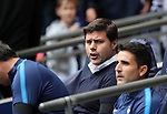 Tottenham's Mauricio Pochettino looks on during the premier league match at the Wembley Stadium, London. Picture date 20th August 2017. Picture credit should read: David Klein/Sportimage