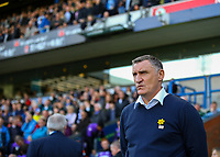 Blackburn Rovers manager Tony Mowbray reacts<br /> <br /> Photographer Alex Dodd/CameraSport<br /> <br /> The EFL Sky Bet Championship - Blackburn Rovers v Stoke City - Saturday 6th April 2019 - Ewood Park - Blackburn<br /> <br /> World Copyright © 2019 CameraSport. All rights reserved. 43 Linden Ave. Countesthorpe. Leicester. England. LE8 5PG - Tel: +44 (0) 116 277 4147 - admin@camerasport.com - www.camerasport.com