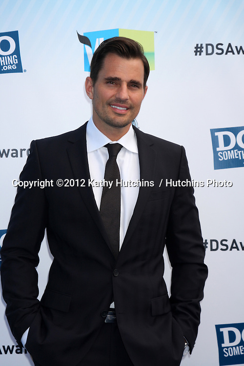 Los Angeles - AUG 19:  Bill Rancic arrives at the 2012 Do Something Awards at Barker Hanger on August 19, 2012 in Santa Monica, CA