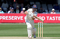 Sir Alastair Cook of Essex keeps a watchful eye on the ball during Essex CCC vs Nottinghamshire CCC, Specsavers County Championship Division 1 Cricket at The Cloudfm County Ground on 16th May 2019