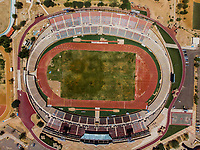 Vista aerea de Complejo deportivo de la Comisión Estatal de Deporte, CODESON en Hermosillo, Sonora....<br /> Estadio Héroe de Nacozari. Campo de Futbol. Cancha de Futbol. Pista de Atletismo<br /> <br /> <br /> Photo: (NortePhoto / LuisGutierrez)<br /> <br /> ...<br /> keywords: