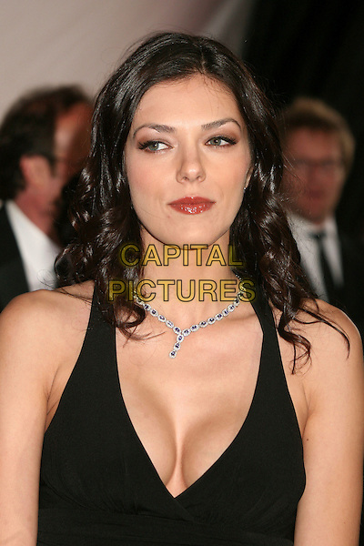 ADRIANNE CURRY.5th Annual TV Land Awards at Barker Hangar, Santa Monica, California, USA, 14 April 2007..portrait headshot cleavage black halterneck.CAP/ADM/BP.©Byron Purvis/AdMedia/Capital Pictures.