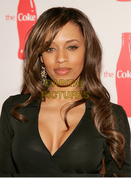 "MELYSSA FORD.at Coca-Cola's ""Coke Side Of Life"" Launch Party with a Performance by Ne-Yo at Capitale, New York, NY, USA,.30 March 2006..half length black.Ref: ADM/JL.www.capitalpictures.com.sales@capitalpictures.com.©AdMedia/Capital Pictures."