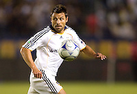 LA Galaxy midfielder Dema Kovalenko moves to the ball during the Western Conference Final. The LA Galaxy defeated the Houston Dynamo 2-1 to win the MLS Western Conference Final at Home Depot Center stadium in Carson, California on Friday November 13, 2009.....