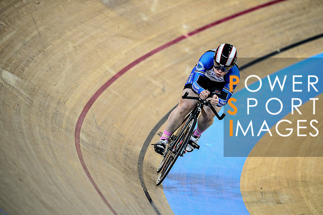 Jessica Lee of team IND during the Indiviual Pursuit Women Qualifying (2 KM)Track Cycling Race 2016-17 Series 3 at the Hong Kong Velodrome on February 4, 2017 in Hong Kong, China. Photo by Marcio Rodrigo Machado / Power Sport Images