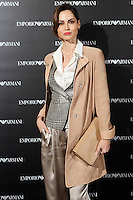Ariadne Artiles attends the Emporio Armani Boutique opening at Serrano street in Madrid, Spain. April 08, 2013. (ALTERPHOTOS/Caro Marin) /NortePhoto
