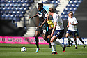 Oumare Tounkara of Stevenage takes on Paul Huntington of Preston<br />  - Preston North End v Stevenage - Sky Bet League One - Deepdale, Preston - 14th September 2013. <br /> © Kevin Coleman 2013