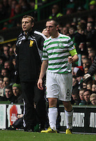 Scott Brown in the Celtic v St Mirren Clydesdale Bank Scottish Premier League match played at Celtic Park, Glasgow on 15.12.12.