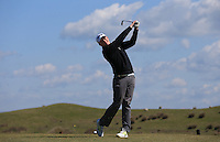 Jack Hawksby during Round Two of the West of England Championship 2016, at Royal North Devon Golf Club, Westward Ho!, Devon  23/04/2016. Picture: Golffile | David Lloyd<br /> <br /> All photos usage must carry mandatory copyright credit (&copy; Golffile | David Lloyd)