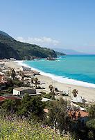 Italy, Calabria, Palmi: popular beach resort Marina di Palmi