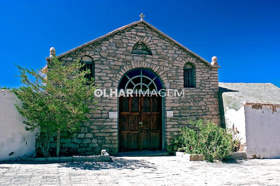 Igreja no Deserto do Atacama. Chile. 2004. Foto de Maristela Colucci.