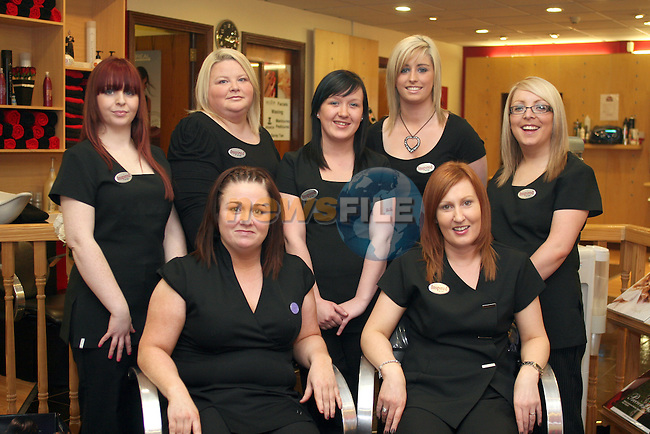 Inspired Hair Studio Staff 29/03/10..Photo NEWSFILE/Jenny Matthews.(Photo credit should read Jenny Matthews/NEWSFILE)....This Picture has been sent you under the condtions enclosed by:.Newsfile Ltd..The Studio,.Millmount Abbey,.Drogheda,.Co Meath..Ireland..Tel: +353(0)41-9871240.Fax: +353(0)41-9871260.GSM: +353(0)86-2500958.email: pictures@newsfile.ie.www.newsfile.ie.FTP: 193.120.102.198.