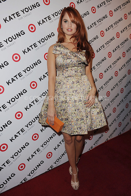 WWW.ACEPIXS.COM . . . . . .April 9, 2013...New York City....Debby Ryan attends the Kate Young For Target Launch at The Old School NYC on April 9, 2013 in New York City ....Please byline: KRISTIN CALLAHAN - ACEPIXS.COM.. . . . . . ..Ace Pictures, Inc: ..tel: (212) 243 8787 or (646) 769 0430..e-mail: info@acepixs.com..web: http://www.acepixs.com .
