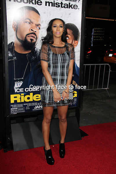HOLLYWOOD, CA - January 13: Keri Hilson at the &quot;Ride Along&quot; World Premiere, TCL Chinese Theater, Hollywood, January 13, 2014. <br />