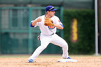 June 18th 2007:  Mike Fontenot of the Chicago Cubs during a game at Wrigley Field in Chicago, IL.  Photo by:  Mike Janes/Four Seam Images