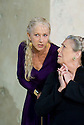 Phedre by Jea Racine,a new version by Ted Hughes directed by Nicholas Hytner.With Helen Mirren as Phedre,Margaret Tyzack as Oenone.Opens at The Lyttleton Theatre at TheRoyal  National Theatre on  3/6/09 CREDIT Geraint Lewis
