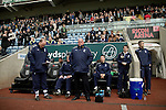 Coventry City 1 Birmingham City 1, 10/03/2012. Ricoh Arena, Championship. Home manager Andy Thorn at the Ricoh Arena, pictured just prior to kick-off as Coventry City hosted Birmingham City in an Npower Championship fixture. The match ended in a one-all draw, watched by a crowd of 22,240. The Championship was the division below the top level of English football. Photo by Colin McPherson.
