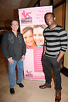 Guiding Light's Frank Dicopoulos & Lawrence Saint Victor (now Bold and The Beautiful) are hosts at the Pittsburgh, PA Bridal Showcase and Women's Expo on March 21 and 22, 2015 at the David Lawrence Convention Center. The actors were there to benefit Young Women's Breast Cancer Awareness Foundation. On Friday preceeding they appeared at Chicos at the Galleria Mall in Mt. Lebanon, Pa. The actors signed, posed with brides from Fashions by Exquisite Bride and Sorelle and more. (Photos by Sue Coflin)