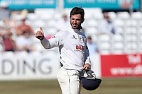 Essex skipper Ryan ten Doeschate gives the thumbs up during Essex CCC vs Somerset CCC, Specsavers County Championship Division 1 Cricket at The Cloudfm County Ground on 27th June 2018