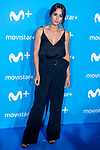 Megan Montaner attends to blue carpet of presentation of new schedule of Movistar+ at Queen Sofia Museum in Madrid, Spain. September 12, 2018. (ALTERPHOTOS/Borja B.Hojas)