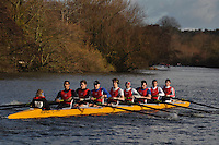 010 AGE Agecroft. Wallingford Head of the River. Sunday 27 November 2011. 4250 metres upstream on the Thames from Moulsford railway bridge to Oxford Universitiy's Fleming Boathouse in Wallingford. Event run by Wallingford Rowing Club..