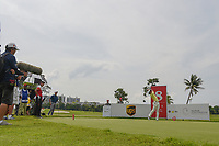 Takumi KANAYA (JPN) watches his tee shot on 8 during Rd 4 of the Asia-Pacific Amateur Championship, Sentosa Golf Club, Singapore. 10/7/2018.<br /> Picture: Golffile | Ken Murray<br /> <br /> <br /> All photo usage must carry mandatory copyright credit (&copy; Golffile | Ken Murray)