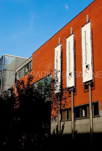 The Plantijn highschool in Antwerp (Belgium, 19/09/2009)