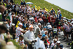 Action during Stage 9 of the 104th edition of the Tour de France 2017, running 181.5km from Nantua to Chambery, France. 9th July 2017.<br /> Picture: ASO/Pauline Ballet | Cyclefile<br /> <br /> <br /> All photos usage must carry mandatory copyright credit (&copy; Cyclefile | ASO/Pauline Ballet)