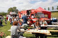 Amsterdam Westerpark. Foodfestival De Rollende keukens. De Soepbus