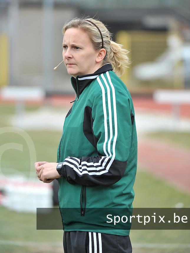 Belgium U19 - Switzerland U19 : Rhona Daly (IRL) .foto DAVID CATRY / Nikonpro.be