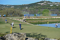 Jon Rahm (ESP) looks over his putt on 11 during round 1 of the World Golf Championships, Dell Match Play, Austin Country Club, Austin, Texas. 3/21/2018.<br /> Picture: Golffile | Ken Murray<br /> <br /> <br /> All photo usage must carry mandatory copyright credit (&copy; Golffile | Ken Murray)