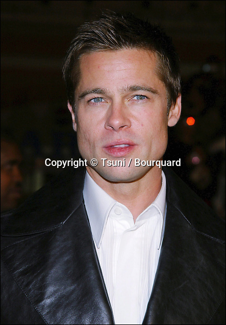 "Brad Pitt arriving at the ""Ocean's 12"" Premiere held at Grauman's Chinese Theatre in Los Angeles on Wednesday, December 8, 2004."