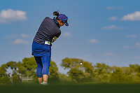 Tiffany Joh (USA) watches her tee shot on 1 during the round 2 of the Volunteers of America Texas Classic, the Old American Golf Club, The Colony, Texas, USA. 10/4/2019.<br /> Picture: Golffile | Ken Murray<br /> <br /> <br /> All photo usage must carry mandatory copyright credit (© Golffile | Ken Murray)