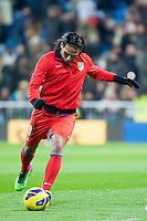 Falcao training, was not his night at the Santiago Bernabeu