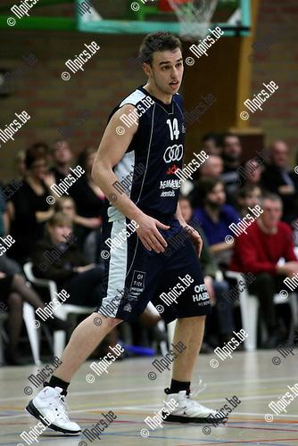 2010-02-27 / Basketbal / seizoen 2009-2010 / Mol - Herentals / Van Broeck Yannick...Foto: mpics