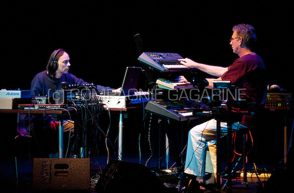 Concert of the Dutch electronic music composers Gert Emmens and Ruud Heij at the E-Live festival, in Oirschot (Holland, 27/10/2012)