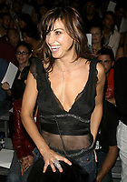 GINA GERSHON  2003 <br /> MERCEDES-BENZ FASHION WEEK-<br /> MARC JACOBS 2004 SPRING COLLECTION.<br /> NEW YORK CITY.<br /> Photo By John Barrett/PHOTOlink/MediaPunch