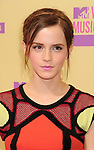 LOS ANGELES, CA - SEPTEMBER 06: Emma Watson  arrives at the 2012 MTV Video Music Awards at Staples Center on September 6, 2012 in Los Angeles, California.