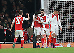 Arsenal's Alex Iwobi looks on dejected after soring an own goal during the Champions League group A match at the Emirates Stadium, London. Picture date November 23rd, 2016 Pic David Klein/Sportimage