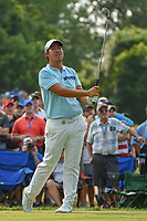 Byeong Hun An (KOR) watches his tee shot on 6 during 4th round of the 100th PGA Championship at Bellerive Country Club, St. Louis, Missouri. 8/12/2018.<br /> Picture: Golffile   Ken Murray<br /> <br /> All photo usage must carry mandatory copyright credit (© Golffile   Ken Murray)