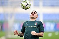 Marco Verratti <br /> Roma 11-10-2019 Stadio Olimpico <br /> European Qualifiers Qualifying round <br /> Italy - Greece day -1 training<br /> Photo Andrea Staccioli/Insidefoto