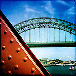 Tyne bridges, Newcastle-Upon-Tyne, UK