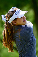 Belen Mozo (ESP) watches her tee shot on 13 during round 1 of  the Volunteers of America Texas Shootout Presented by JTBC, at the Las Colinas Country Club in Irving, Texas, USA. 4/27/2017.<br /> Picture: Golffile | Ken Murray<br /> <br /> <br /> All photo usage must carry mandatory copyright credit (&copy; Golffile | Ken Murray)