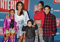 HOLLYWOOD, CA - NOVEMBER 05: Christina Milian and family attend the Premiere Of Disney's 'Ralph Breaks The Internet' at the El Capitan Theatre on November 5, 2018 in Los Angeles, California.<br /> CAP/ROT/TM<br /> &copy;TM/ROT/Capital Pictures