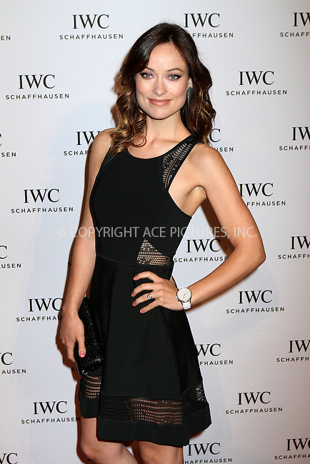 WWW.ACEPIXS.COM....April 18 2013, New York City....Olivia Wilde arriving at the IWC And Tribeca Film Festival Celebrate 'For The Love Of Cinema' event at Urban Zen on April 18, 2013 in New York City.....By Line: Nancy Rivera/ACE Pictures......ACE Pictures, Inc...tel: 646 769 0430..Email: info@acepixs.com..www.acepixs.com