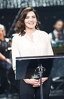 Rai &quot;il nostro ToT&ograve; &quot; spettacolo per i cinquanta anni dalla morte del principe Antonio de Curtis<br /> nella foto<br /> Luisa Ranieri